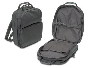 590 SPC BLACK Backpack Tool Case without Tool Pallets - Empty