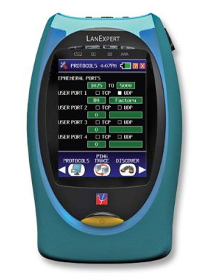 Psiber Data LE85S LanExpert 85 SM Fiber/Copper Network Analyzer