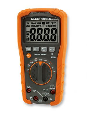 Klein Tools MM600 AC/DC Digital Multimeter, 1000V DMM