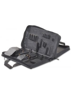862 Soft-Sided 2-Section Zipper Tool Case, 18.375