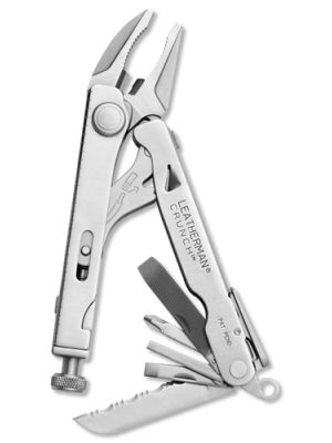 Leatherman 68010101K CRUNCH Multi-Tool, 13 Tools with Vise