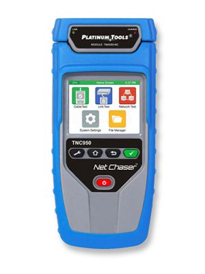 Platinum Tools TNC950DX Net Chaser Ethernet Speed Certifier Kit