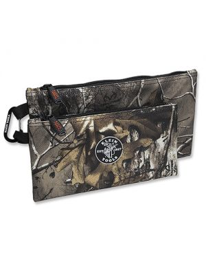 Klein Tools 55560 Realtree Xtra Camo Zipper Bags, 2-Pack