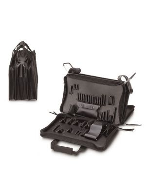 Soft-Sided, 3-Section Tool Case 18.25