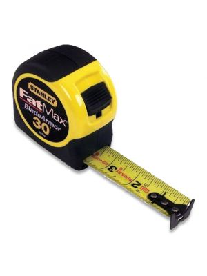Stanley 33-730 FatMax Tape Measure, 30' with Blade Armor