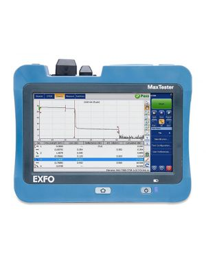 EXFO MAX-730C FTTx/PON Single Mode Live OTDR, 1310/1550/1625 nm