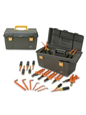 Cementex ITS-24B Insulated Electricians Tool Kit, 24-Piece