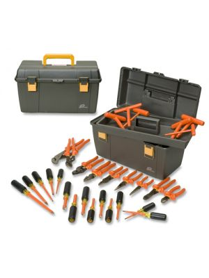 Cementex ITS-30B Insulated Electricians Tool Kit, 30-Piece