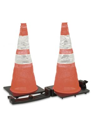 Direct Safety 06263 Reflective Spring Cones & Tote System, 2/cs
