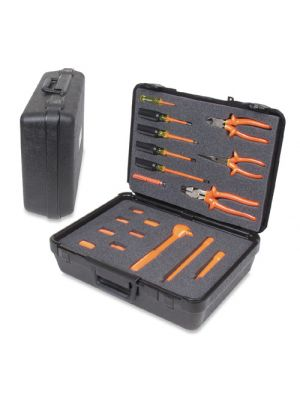 SPC932 High Voltage Electrician's Tool Kit, 19-Piece