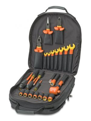 SPC960BP 1000V Insulated Maintenance Backpack Kit, 25-Piece
