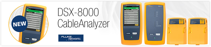 Fluke Networks New Dsx 8000 Cableanalyzer