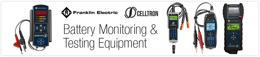 Battery Monitoring and Testing Equipment from Franklin Celltron